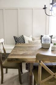 EASY BOARD BATTEN FROM A HOUSE AND DOG BLOG Modern Farmhouse Board Batten Dining Room