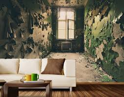 mural abandoned room wall mural decal amazing mural decal