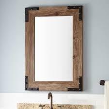 Dresser Mirror Mounting Hardware by Bathroom Mirrors Vanity Mirrors Signature Hardware