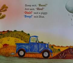 """Little Blue Truck Books 