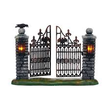 Dept 56 Halloween Village List by Department 56 Halloween Village Spooky Wrought Iron Gate The