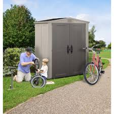 Argos 6 X 10 Shed by Plastic Bike Sheds Plastic Storage Box Large Patio Garden Bike