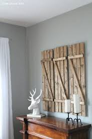 Shutter Wall Decor How To Create Barn Wood Shutters Rustic