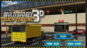 100 Truck Parking Games Multi Storey 3D Android Gameplay HD