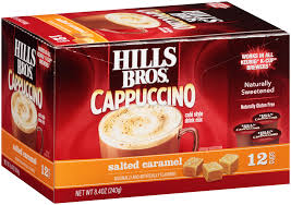 Hills Bros Cappuccino Salted Caramel