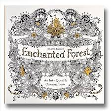 Johanna Basfords Enchanted Forest An Inky Quest And Coloring Book To View Further