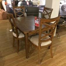 Small Extending Dining Table And Four Chairs