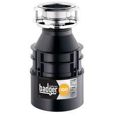 home depot badger 100 garbage disposal insinkerator
