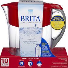 Brita Faucet Filter Replacement Walmart by Brita Grand Pitcher Red Walmart Canada
