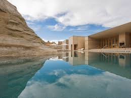 100 Worldwide Pools Amangiri Resort Canyonlands Utah Aqua Design International