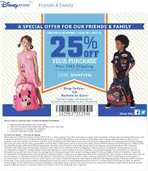 Disney Store Coupons - 25% Off At Disney Store, Or Online ...