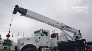 Altec AC38-127S | Telescopic Boom Truck Crane - YouTube