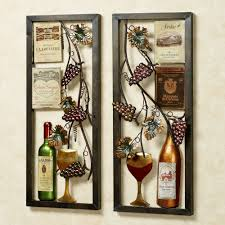 Multi Jewel Vineyard Wall Art Double Frame Amazing Prints Painting Floral Drinking Glass Adorable Unique Handmade
