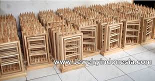 Jewelry Displays Wood Bali Jewellery Stands Rings Holders