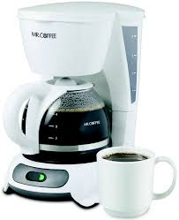 Mr Coffee DR4 NP 4 Cup White Coffeemaker Hover To Zoom