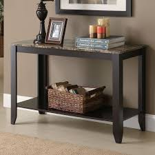 Narrow Sofa Table With Storage by Shop Monarch Specialties Console Table At Lowes Com