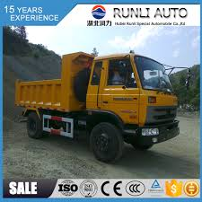 100 5 Ton Dump Truck All Terrain Rhd Right Hand Drive Dongfeng 4x4 For