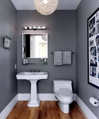 Small Interior Design With Dark Grey Bathroom Paint Ideas With White ... 33 Vintage Paint Colors Bathroom Ideas Roundecor For Small New Bewitching Bright Mirror On Simple Wall Design Best Designs Bath Color That Always Look Fresh And Clean Interior With Dark Grey White About The Williamsburg Collection In 2019 Trending Bathroom Paint Colors Decors Colours Separate Room Cloakroom Sbm Vanity Spaces Shower Netbul Hgtv