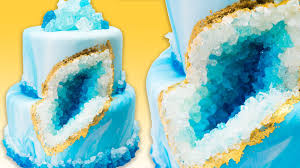Cake Decoration Ideas With Gems by How To Make A Geode Cake Geode Wedding Cake With Rock Candy