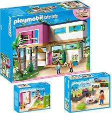 playmobil city 3 teiliges set 5574 moderne luxusvilla