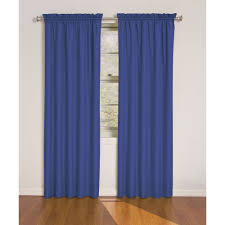 Moroccan Lattice Curtain Panels by Blue Curtain Panels Spellbound Pinchpleat 84inch Rod Pocket