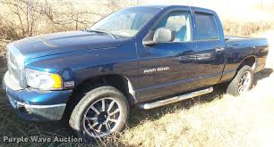 2003 Dodge Ram 1500 Quad Cab Pickup Truck | Item DX9944 | SO...
