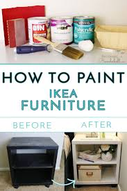 How To Paint Ikea Furniture Be ing A Bombshell