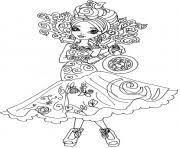 Printable Briar Beauty Way Too Wonderland Ever After High Coloring Pages