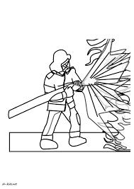60 Coloriage Magique Pompier