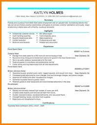 guest service agent resume sles hotel front desk resume front