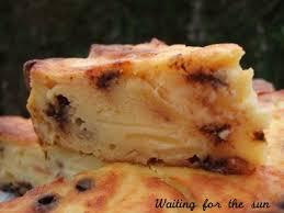 dessert au pomme rapide gâteau inrattable pommes ricotta et pépites de chocolat cuisine