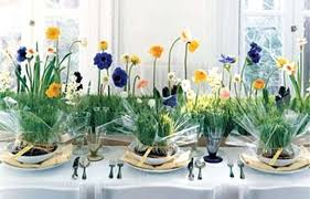Spring Table Party Centerpieces Birthday Decorations Image Inspiration Of Cake And Orig Ideas For