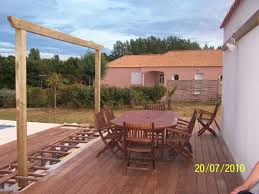 beautiful photo pergola bois terrasse ideas transformatorio us