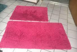 badezimmerteppich pink