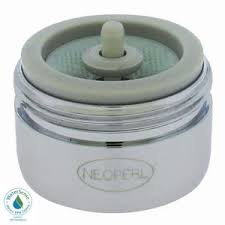 neoperl 1 5 gpm dual thread auto clean water saving faucet aerator