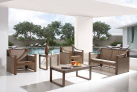 4 Pc Venetian Outdoor Sofa Set