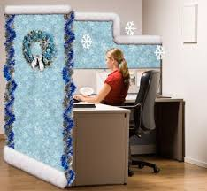 Office Cubicle Christmas Decorating Ideas by Unusual Ideas Design Winter Wonderland Office Decorating Ideas Top