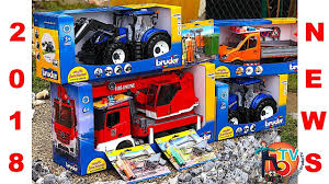 BRUDER 2018 Tractor Truck NEWS TOYS   Fire Truck   New Tractor - YouTube Jual Produk Bruder Terbaik Terbaru Lazadacoid Harga Toys 2532 Mercedes Benz Sprinter Fire Engine With Mack Deluxe Toy Truck 1910133829 Man 02771 Jadrem Engine Scania Ab Car Prtrange Fire Truck 1000 Bruder Fire Truck Mack Youtube With Water Pump Cullens Babyland Pyland Mb W Slewing Ladder In The Rain