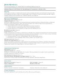 Format For Teacher Resume Sample Example Art Free