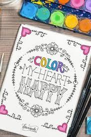 20 Free Coloring Book Printables