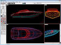 marine design software three dimensional hull design and fairing