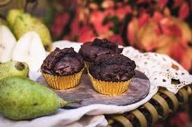 schoko birnen muffins