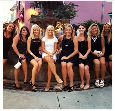 Love This Idea For A Bachelorette Party Bride In Cute White Dress And