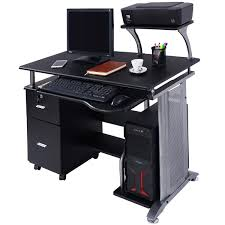 Staples Sauder Edgewater Executive Desk by Costway Computer Desk Pc Laptop Table Workstation Home Office