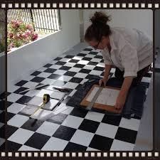 Checkerboard Vinyl Flooring For Trailers by Cargo Trailer Checkered Flooring Carpet Awsa
