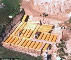 Survivalist built a 10 000 sq ft nuclear fallout shelter