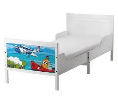 set möbelaufkleber für ikea sundvik bett schlafzimmer kinderzimmer boys flugzeug kat2 zug boot schiff su2 aufkleber möbelfolie sticker ohne möbel