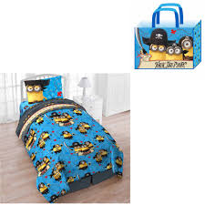 Walmart Bed In A Bag by Universal U0027s Despicable Me Minions Treasure Cove Twin 4 Piece Bed
