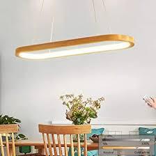 led pendelleuchte holz esszimmer hängele modern esstisch le hängeleuchte pendelle dimmbar mit fernbedienung esszimmerle esstischle