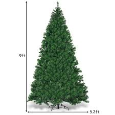 Signstek 6 Ft PreLit Fiber Optic Tipped Artificial Christmas Tree